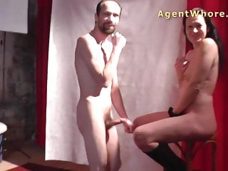 Erotic show secretary - Wild cougar does erotic show for shy stranger