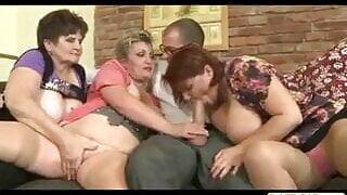 Clitorissa's respect for three old grannies