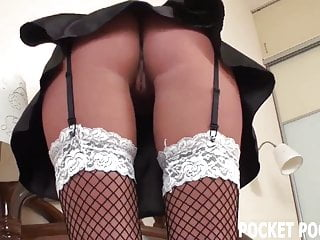 Sex sexcartoon french maid Hot french maid finds her masters sex toy