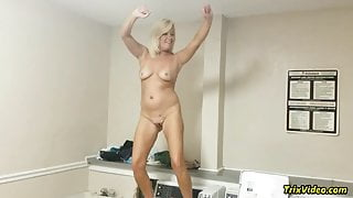 Stripping Full Nude in Public #1