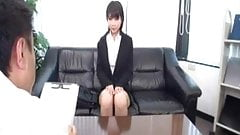Japanese office girls are naught!