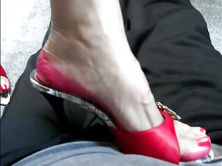 Cock trampling by high heel High heel trample - 2