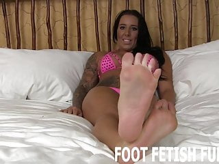 Make your dick harder My feet will make your dick so hard