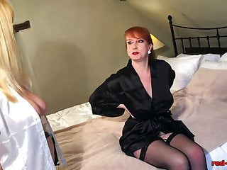 Redhead red bush Busty british redhead red gets a sensual massage