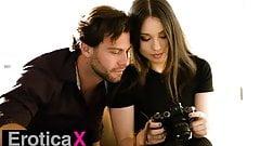 Photographer Liv Wild Occupies Seth's Cock - EroticaX