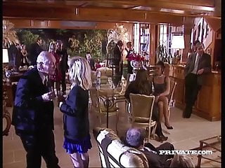 Vintage lecoultre watch - Silvia saint sucks a cock at a party while everyone watches