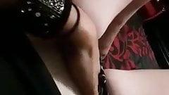 older woman masturbating with orgasm