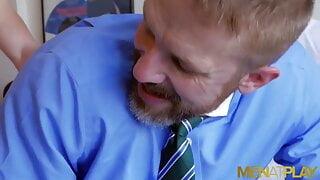 MENATPLAY Ricky Blue Ass Fucks Classy Gay Stepdad Dirk Caber