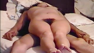 MY MATURE WIFE IS FUCKING, MOANS ASKING FOR MORE COCK, CUMSHOT