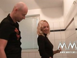 Couple bathroom sex - Mmv films german amateur couple sex in the bathroom