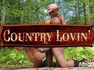 Lesbian hentai videos - Lesbian big tits futanari cowgirls having threesome sex