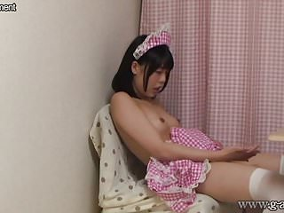 Yua aida thumb - Japanese maid yua nanami plays with herself