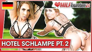 MILF Hunter cums on Mia's tattooed body! milfhunter24.com
