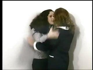 Naked women fight clip - Office women fight