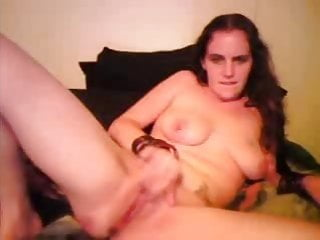 Big sex holes Trixie fist pussy inserts big dildo wide open hole