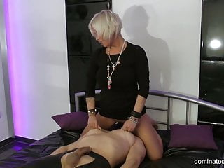 It is delicious cake you must lick it Dominated-men.com - you must lick me slave - runined orgasm