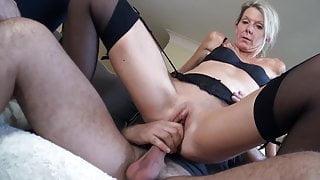 Classy milf Caroline Stines fucked by young stallion