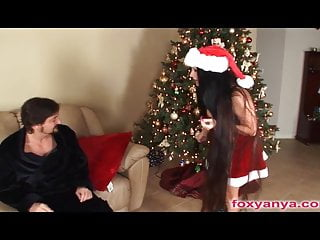 Yes there is a virgin clause Busty mrs clause rides cock for xxxmas
