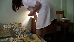 Fucked a french cleaning lady in her ass