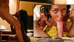 Leaked Sextape with Black Girlfriend and Big White Cock