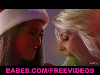 Two lesbians making love Two gorgeous lesbian girlfriends make passionate love
