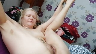 Amateur step mom got fucked in her big pussy and cumshot on face