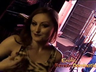 Free gay sex raunch video - Horny brunette slut mistress gemini has some fun with raunch