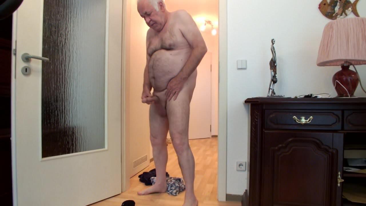 Nackt old granpa Hot Naked