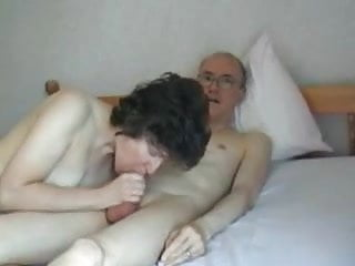 Fat mature cock Mature couple - grandpa big fat cock