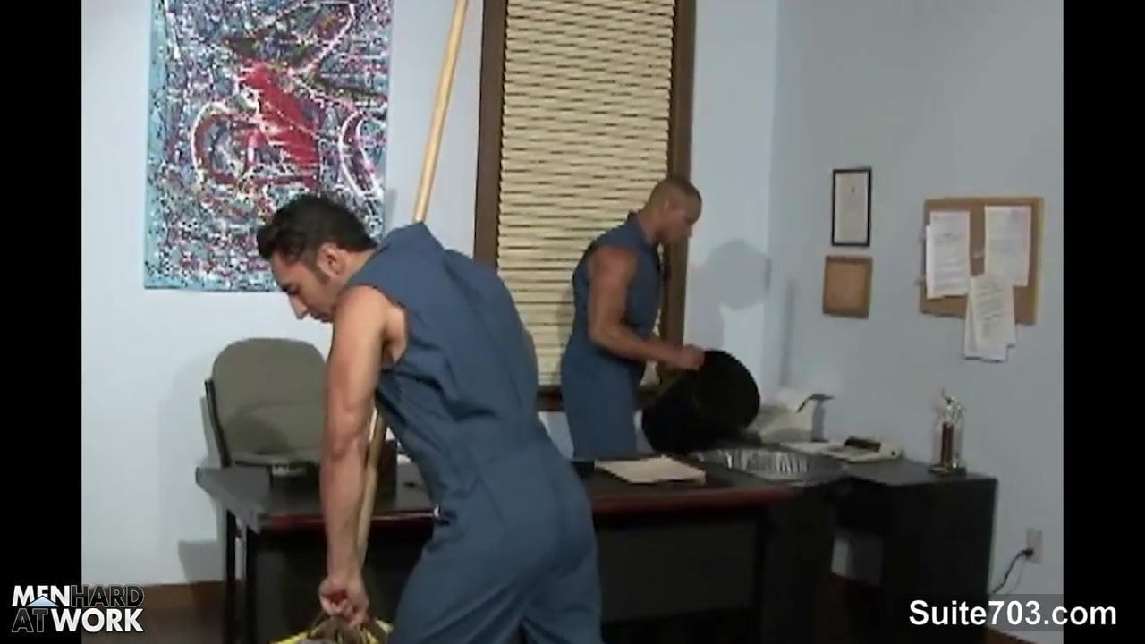 Office Jock Gay Office Porn gay cleaning guys fucking in the office