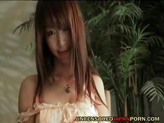 Xxx av Uncensored japanese teen av idol banged and sucking cock