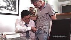 Daddy Ruben Barebacks Twink Jorge