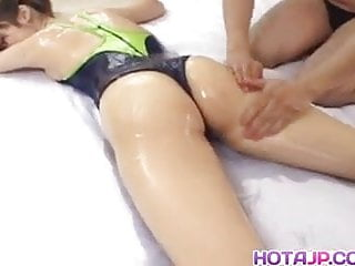 Japanese massage fuck 45 - Hinano shirosaki massaged with oil and fucked