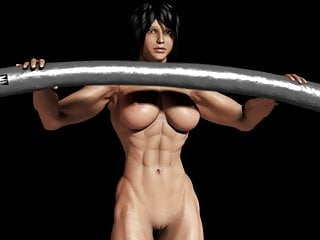 Steel bar cold rolled tgp - Muscle girl bending steel bar animation