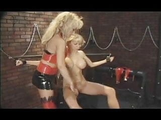 Busty and shackled - Shackled and pussy clamped