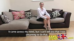 FakeAgentUK Hot wet pussy and sexual moans