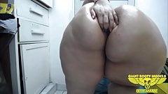 bbw anal dildo