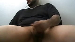 Hot chubby bear shooting good