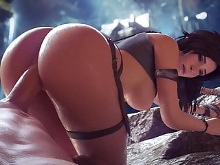 Cartoon porn 3d Tomb raider lara croft 3d porn game super sex compilation