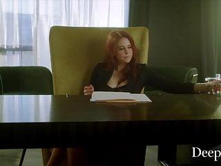 Make vagina deeper Deeper. maitland trains secretary riley to serve her boss