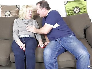 Cock belly porn German mother in stockings seduce to fuck with cum on belly