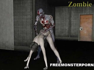 Sexy 3d cartoons - Sexy 3d zombie babe licked and fucked