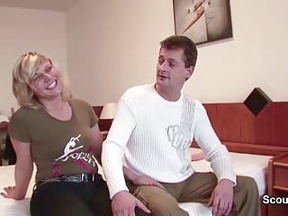 Free porn movie for couples - German mom and dad in first time porn movie for money
