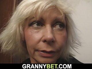 Blonde mature posing woman Neighbor doggy-fucks sexy blonde mature woman