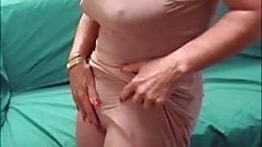 Big Clit Mature In Dress Teasing