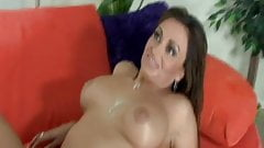 Hot Busty Babe Rough Interracial Fucking