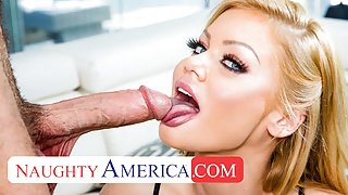 Naughty America - Husbands friend becomes a Big Cock Hero