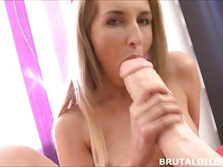 Gay dildo fuck Brutal dildo fuck machine