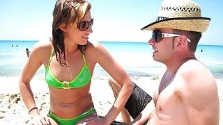 18yr old German Teen Seduce to Fuck at Beach on Ballerman 6