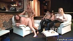 BBW party with sex and fisting
